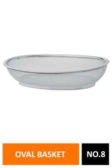 Elephant Ss Multiutility Oval Basket No.8