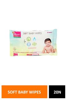 Morison Soft Baby Wipes 20n