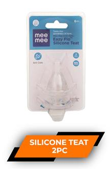 Mee Mee Silicone Teat 2pc
