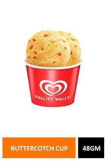 Walls Butterscotch Cup 48gm