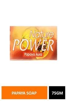 Natures Papaya Soap 75gm