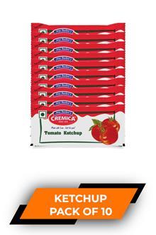 Cremica Tomato Ketchup 8gmx10p
