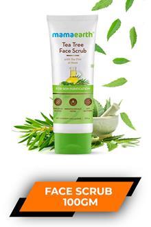 Mamaearth Tea Tree Face Scrub 100gm