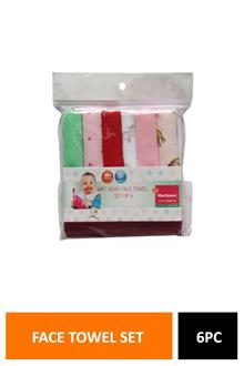 Morison Soft Baby Face Towel Set Of 6