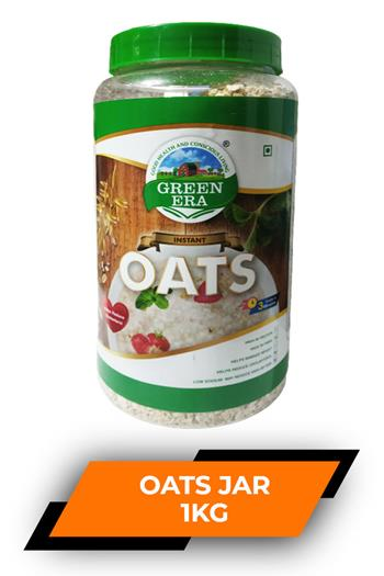 Green Era Oats Jar 1kg