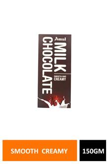 Amul Milk Chocolate Smooth Creamy 150gm