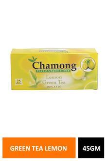 Chamong Green Tea Lemon 45gm