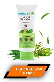 Mamaearth Tea Tree Face Wash 100ml