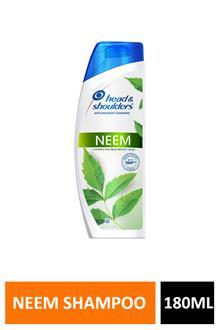 H&s Neem Shampoo 180ml