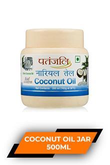 Patanjali Coconut Oil Jar 500ml