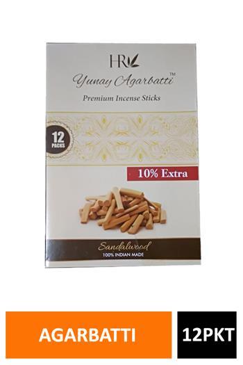 Yunay Premium Sandalwood Agarbatti 20gm*12 Pkt