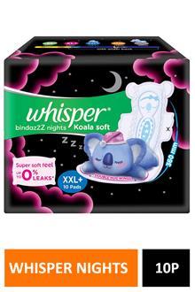 Whisper Nights Koala Soft Xxl+ 10pads
