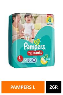 Pampers L26 Pants