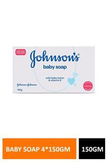 Jb Baby Soap 4x150gm