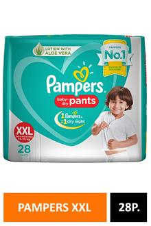 Pampers Xxl28 Pants