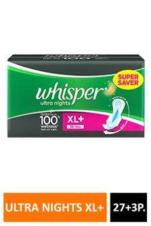 Whisper Ultra Nights Xl+ 27+3p