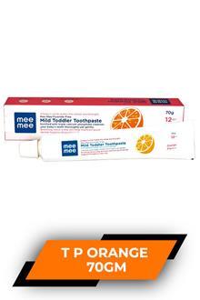 Mee Mee Toothpaste Orange 70gm