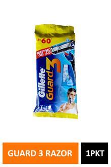 Gillette Guard 3 Razor Free Gel