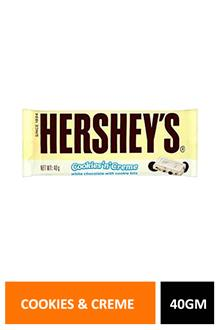 Hersheys Cookies & Cream 40gm