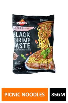 Picnic Black Shrimp Paste Noodles 85gm