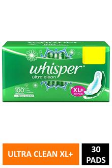Whisper Ultra Clean Xl+ 30p