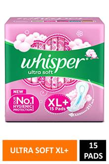 Whisper Ultra Soft Xl+15p