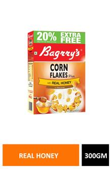 Bagrrys Cornflakes Real Honey 300gm