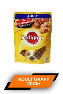 Pedigree Adult Gravy 70gm