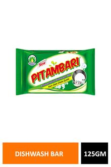 Pitambari Dishwash Bar 125gm