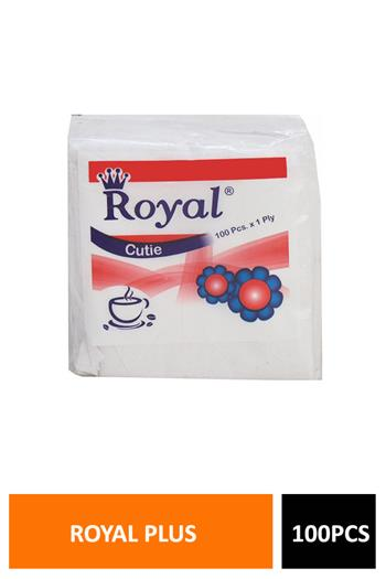 Royal Plus Tissue 100pcs