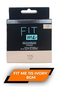 Loreal Fit Me 115 Ivory 8gm