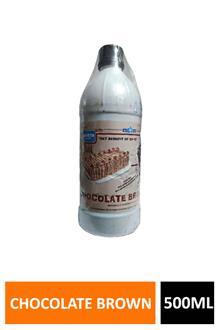 Bluestar Chocolate Brown Liquid Colour 500ml