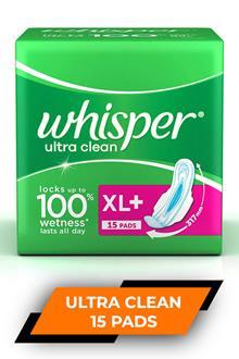 Whisper Ultra Clean Xl+ 15p