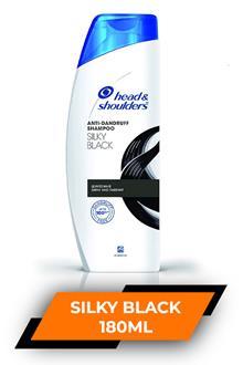 H&s Silky Black 180ml