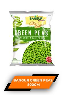 Bangur Frozen Green Peas 500gm