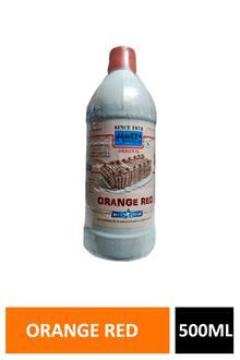 Bluestar Orange Red Liquid Colour 500ml