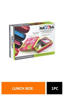 Nayasa NotE-Book Lunch Box Dlx Np982