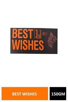 Amul Dark Chocolate Best Wishes 150gm