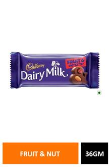 Dairy Milk Fruit & Nut 36gm