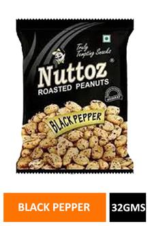 Nuttoz Black Pepper Peanuts 32gm