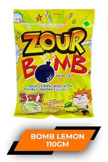 Zour Bomb Lemon 110 gm