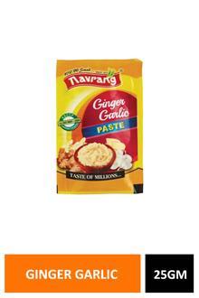 Navrang Ginger Garlic Paste 25gm