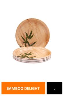 Servewell Plate (r) Bamboo Delight 6pcs