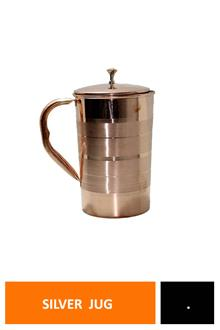 Tera Copper Jug Silver Touch No.2
