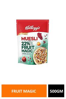 Kelloggs Muesli Fruit Magic 500gm