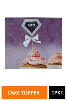 Sig Cake Topper Glitter 3d Bday Diamond 2169b
