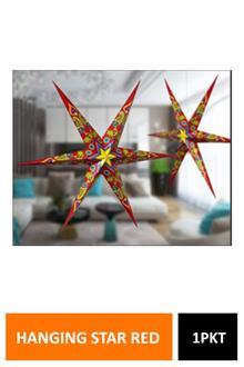 Sig Hanging Star Red Jaipuri Hg3119