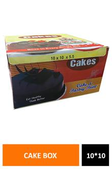 Cake Box 10x10