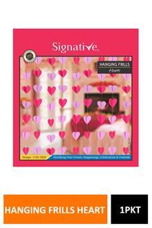 Sig Frill Mini Heart Hg3050