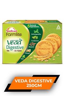 Sunfeast Farmlite Veda Digestive 250gm